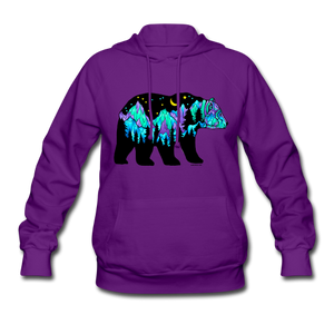 Hoodie - Big Dipper Bear on Purple