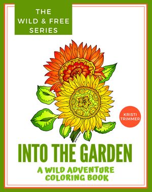 Book - Into the Garden Coloring Book