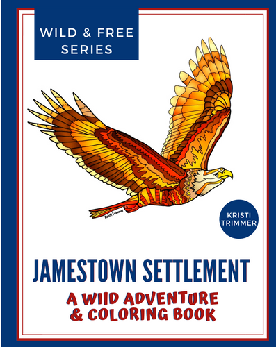 Book - Jamestown Settlement: A Wild Adventure & Coloring Book