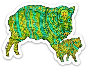 Javelina Sticker