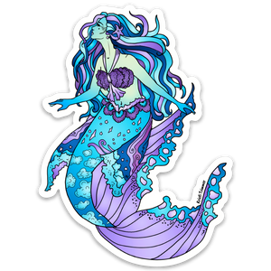 Mermaid - Mermaid Stickers