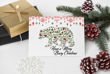 Load image into Gallery viewer, Greeting Card - Have A Merry Beary Christmas