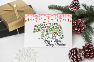 Greeting Card - Have A Merry Beary Christmas
