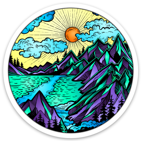 Mountains Magnet
