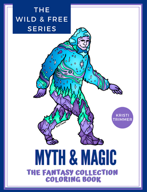 Book - Myth & Magic: The Fantasy Collection Coloring Book