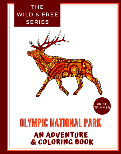 Book - Olympic National Park: An Adventure & Coloring Book