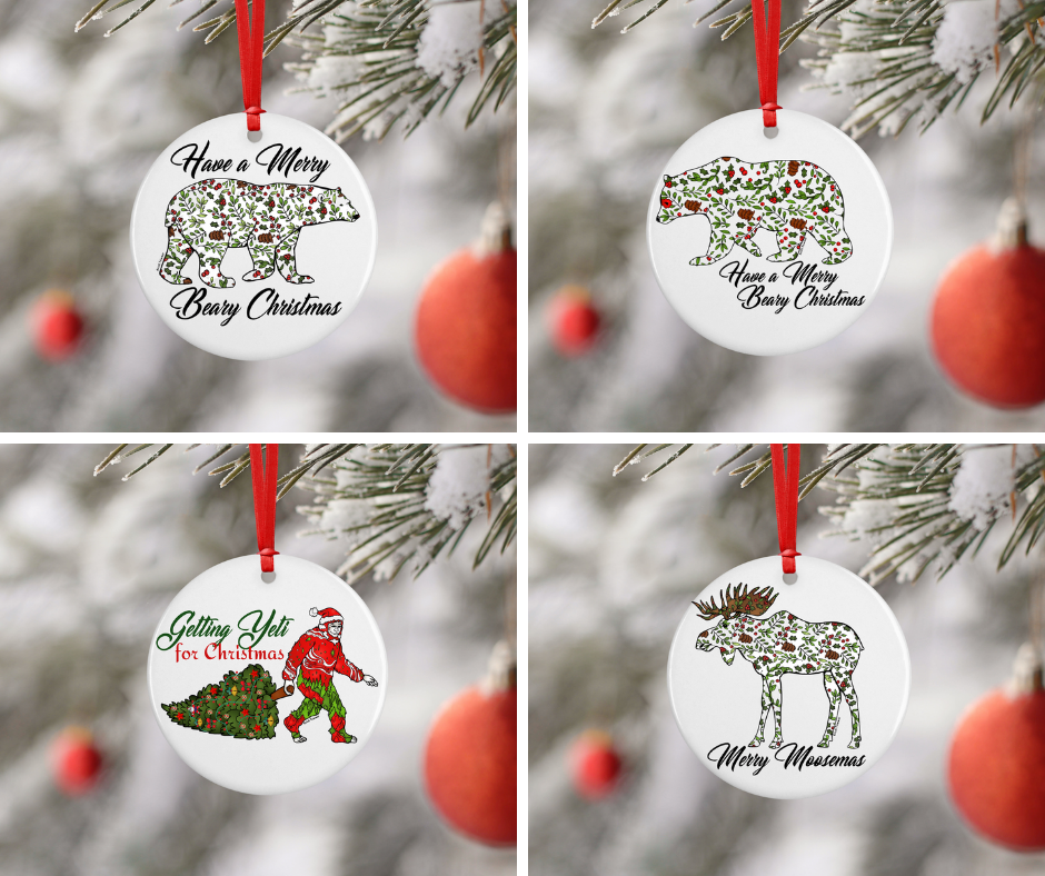 Ornament Bundle - Holly Berry Collection