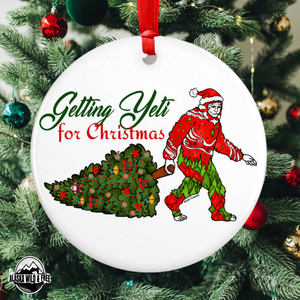 Ornament - Getting Yeti for Christmas