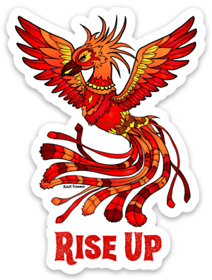 Phoenix - Rise Up Sticker
