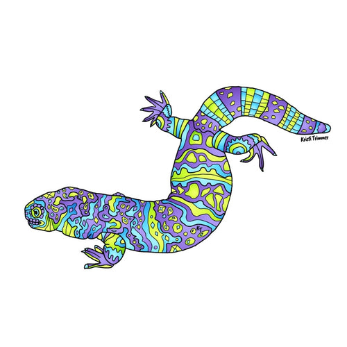 Lizard - Gila Monster Sticker