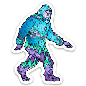 Sasquatch - Sasquatch & Yeti Stickers