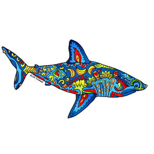 Shark - Salmon Shark Sticker