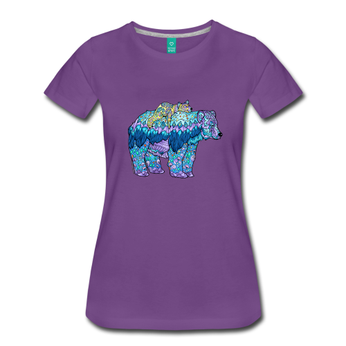 Shirts - Mama Bear - Purple