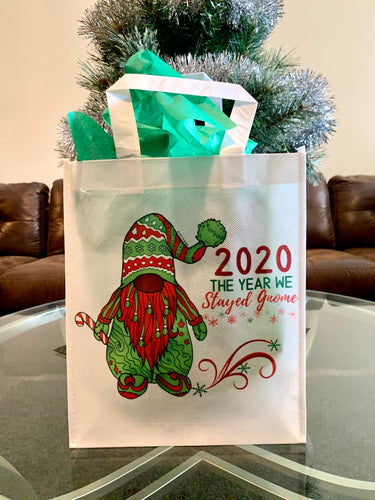Tote Bag - 2020 The Year We Stayed Gnome