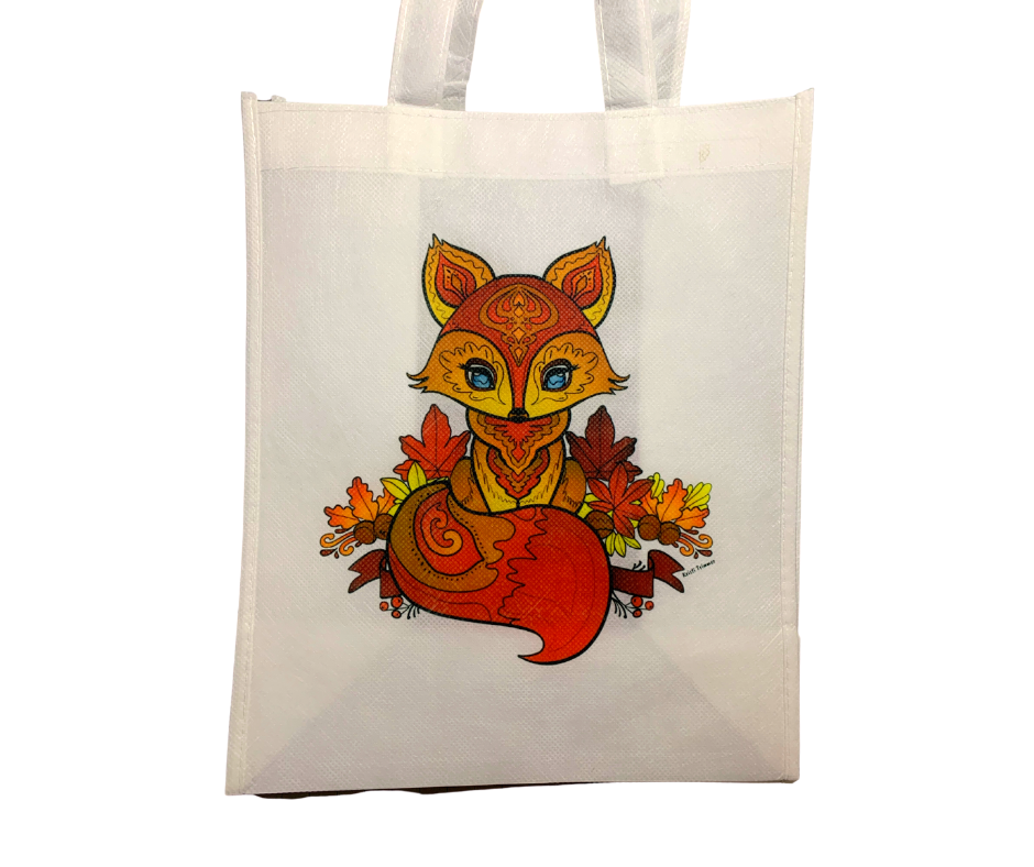 Tote Bag - Fall Fox