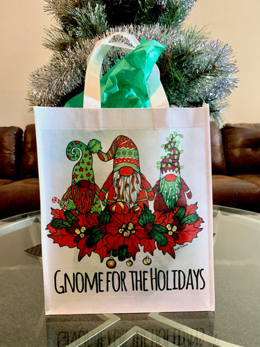 Tote Bag - Gnome for the Holidays