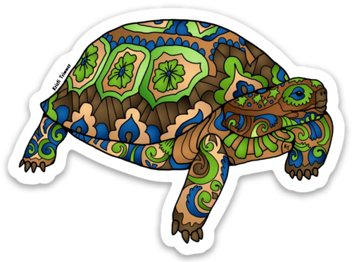 Turtle - Desert Tortoise Stickers