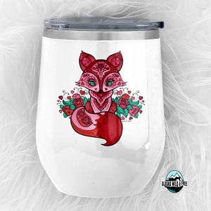 Drinkware - Valentine's Day Pink Fox Collection