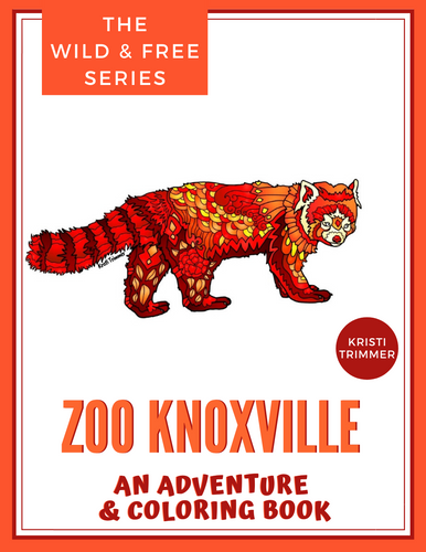 Book - Zoo Knoxville: An Adventure & Coloring Book