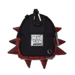 "MadPax Crossbody Mighty Bite röd ""Red Tillion"" - backpax.se"