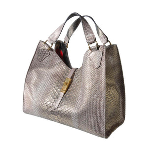 Exotic Silver Bag
