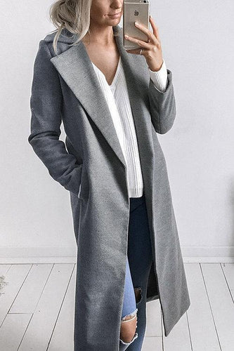 Fashion Long Sleeves Casual Outerwear
