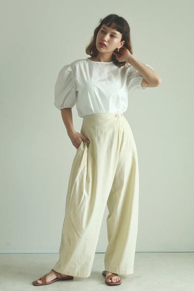 french cotton pants PR040047