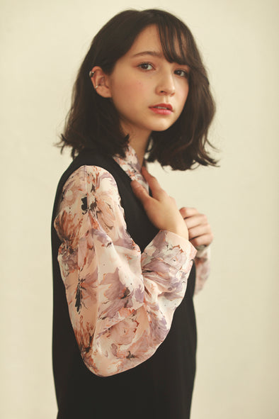 rich flower blouse PR070004