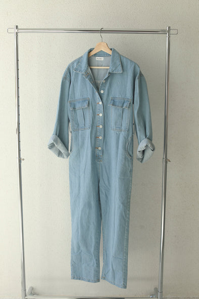 denim jump suit PR140009
