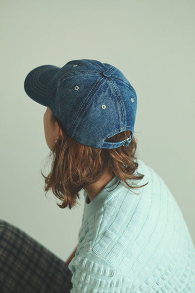 simple denim cap PR090031