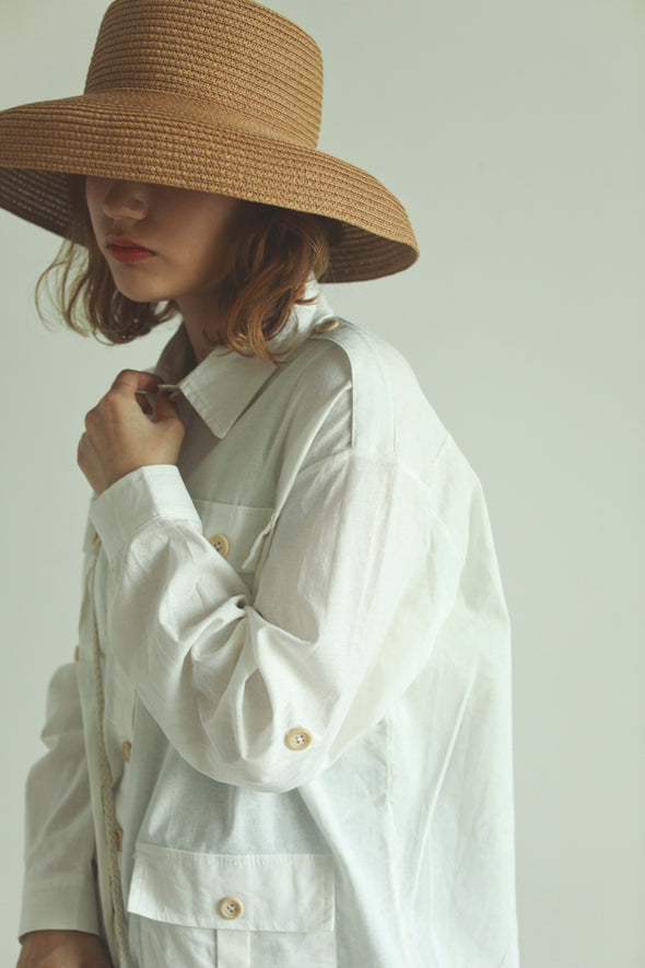 sheer white shirt PR090015