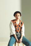 Over knit vest PR010003