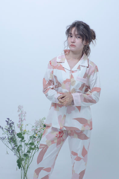 flowers pattern room wear PR150031
