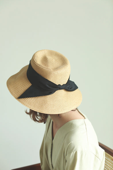 ribbon summer hat PR070034