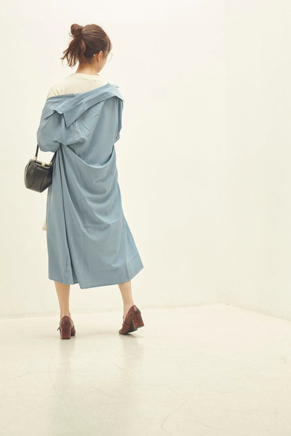 Long shirt dress PRMG0017