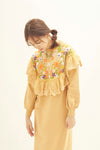 Flower knit dress PRMG0014