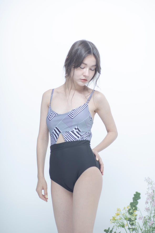 Two-tone swimwear PR150024