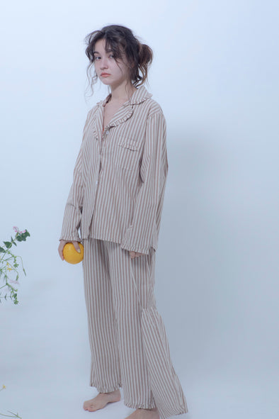 border pajamas 3-piece set PR010033