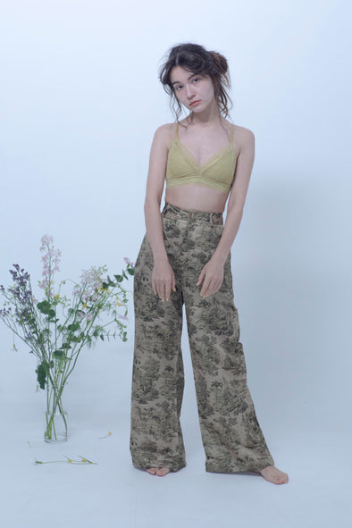 Patterned pants PR150013