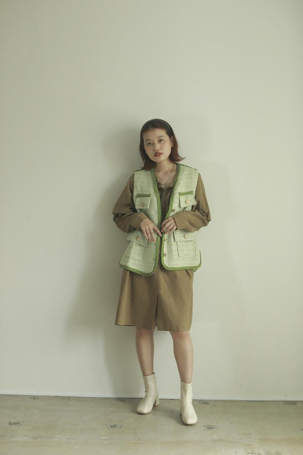【即納】french vest PF040079