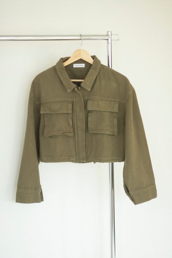 short military jacket PR200059
