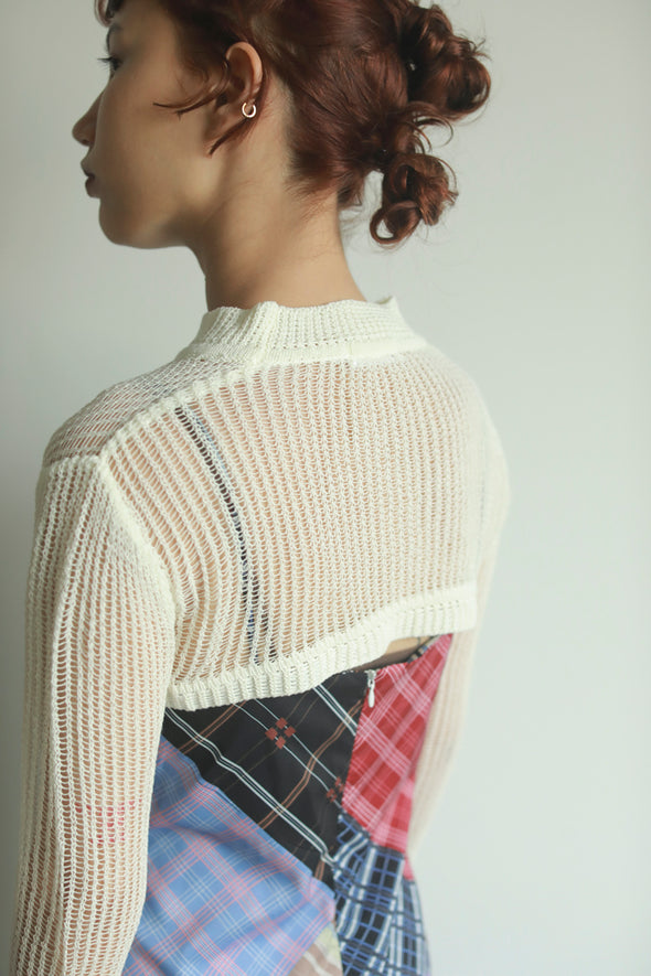seethrough knit PR120083