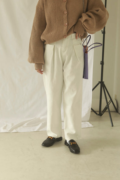 cotton straight pants PR320040