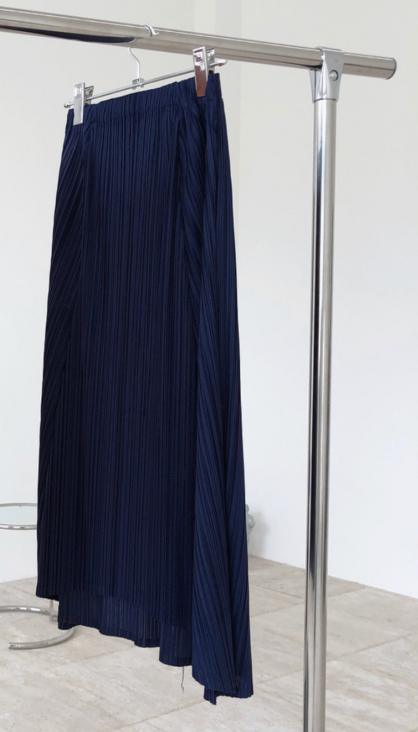 pleats skirt PR190018