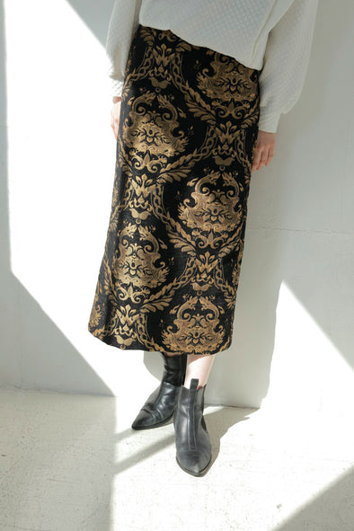 gold design skirt PR010151