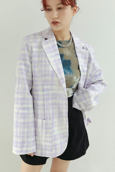 purple chack jacket PR310071