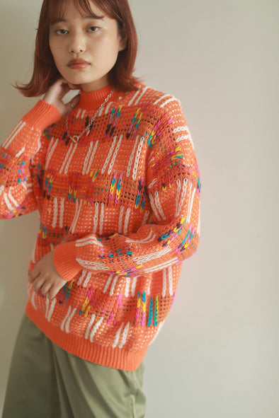 colorful over knit PR130089