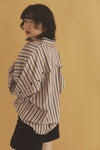 Striped dolman shirt PR010086