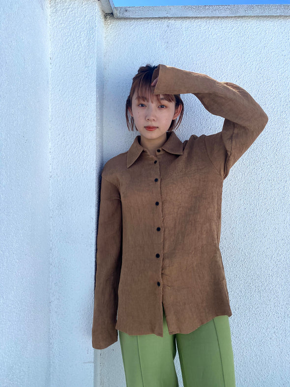 brown shirt PR040013
