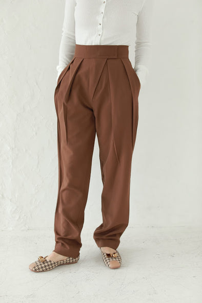 two tuck pants PR010166